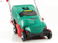 Testing the Bosch AVR 1100 Scarifier with 14 blades